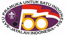 Logo 50 Th Pramuka